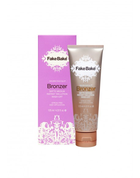 Bronzer Instant Tan Lotion – Non-transferrable, all day wear & wash off tan