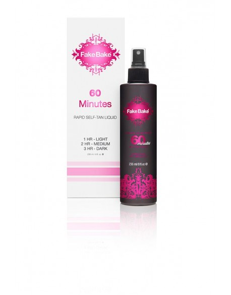 """60 MINUTES ""SAVAIMINIO ĮDEGIO SKYSTIS Fake Bake - 60 Minutes Self-Tan Liquid"