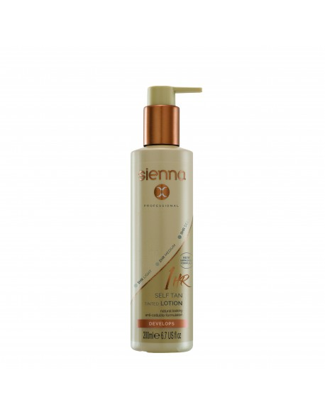 """1 HOUR"" SAVAIMINIO ĮDEGIO LOSJONAS SIENNA-X -1 Hour Self Tan Tinted Lotion"
